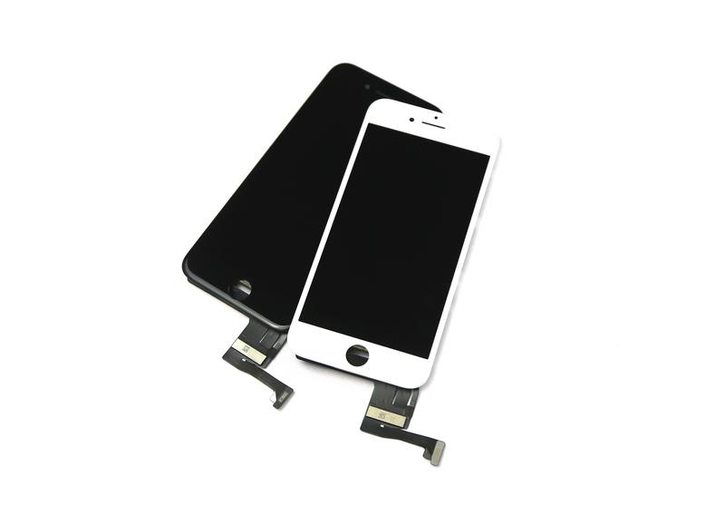 bild 1 av OEM Original iPhone 7 Plus White LCD Touch Glas