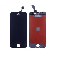 OEM Original iPhone 5S/SE Black LCD Touch Glas