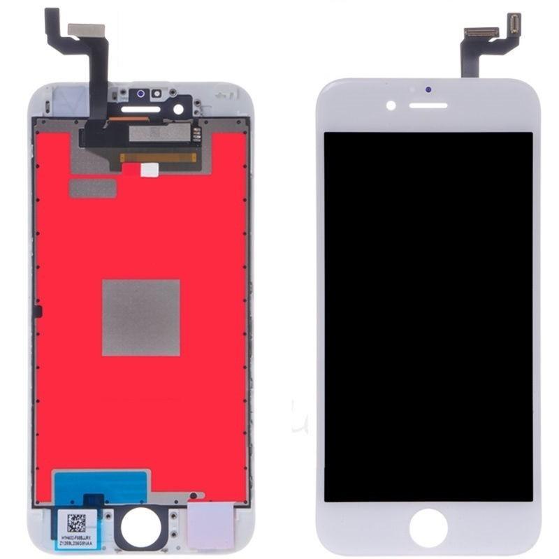 bild 1 av OEM Original iPhone 6S Plus White LCD Touch Glas