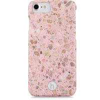 Mobilskal iPhone 6/6s/7/8 Paris Terrazzo Rose Quartz