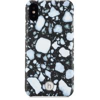 Mobilskal iPhone X/Xs Paris Terrazzo Black