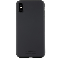 Holdit Mobilskal iPhone X Silicone Black