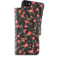 Holdit Plånboksväska Magnet iPhone 6/7/8 Fabric Crosswise