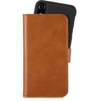 Holdit Plånboksväska Magnet iPhone XR Dark Brown