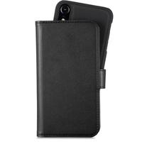 Holdit Plånboksväska Flerfack Magnet iPhone XR Black