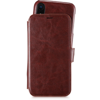 Style by Holdit Plånboksfodral Magnet iPhone XR Berlin Dark Brown
