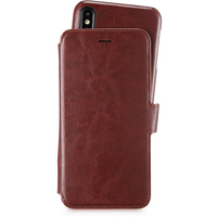 Style by Holdit Plånboksfodral Magnet iPhone Xs Max Berlin Dark Brown