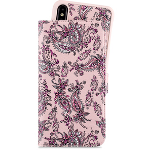 Holdit Wallet Case Magnet iPhone Xs Max Paisley