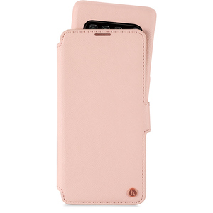 Style Plånboksväska Magnet Galaxy S10+ Stockholm Pink
