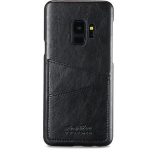 Holdit Mobilskal kreditkortsfack Galaxy S9 Svart