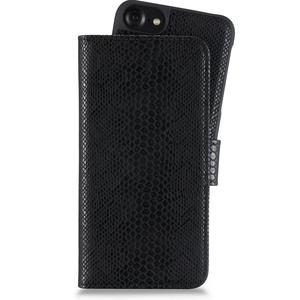 Holdit Plånboksväska Magnet iPhone 6/7/8/SE Serpent Black