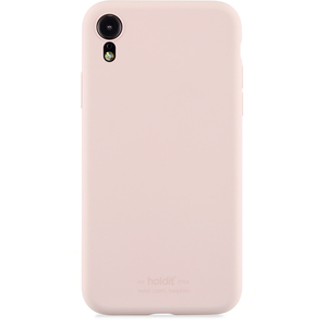 Mobilskal iPhone XR Silicone Blush Pink