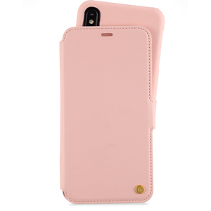 Style by Holdit Plånboksfodral Magnet iPhone Xs Max Stockholm Pink