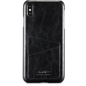 Holdit Mobilskal Kortfack iPhone Xs Max Black