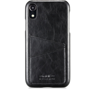 Holdit Mobilskal Kortfack iPhone XR Black