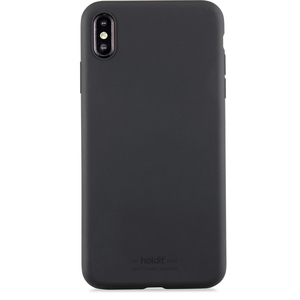 Phone Case iPhone XS Max Silicone Black