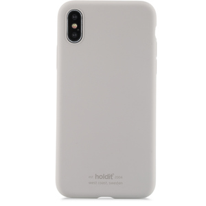 Holdit Mobilskal Silicone iPhone X/Xs Taupe