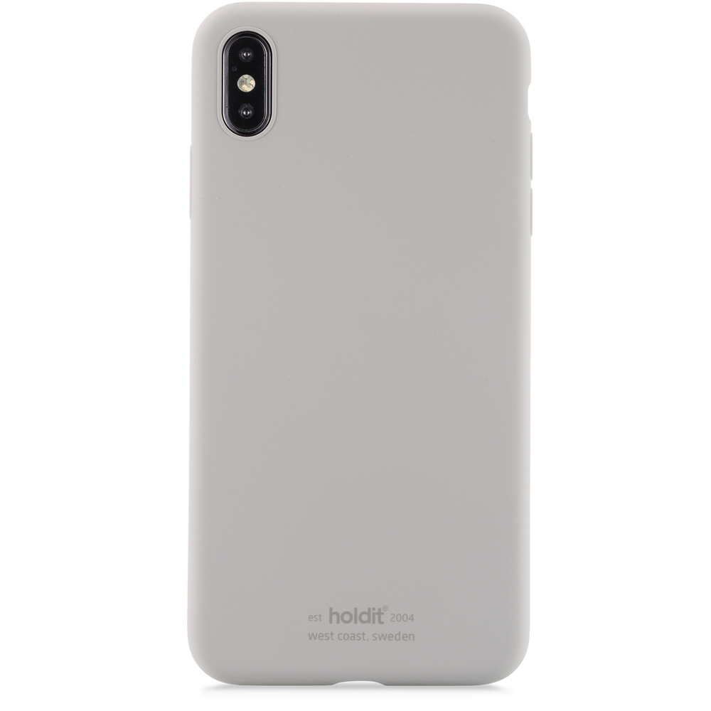 bild 1 av Holdit Mobilskal Silicone iPhone Xs Max Taupe