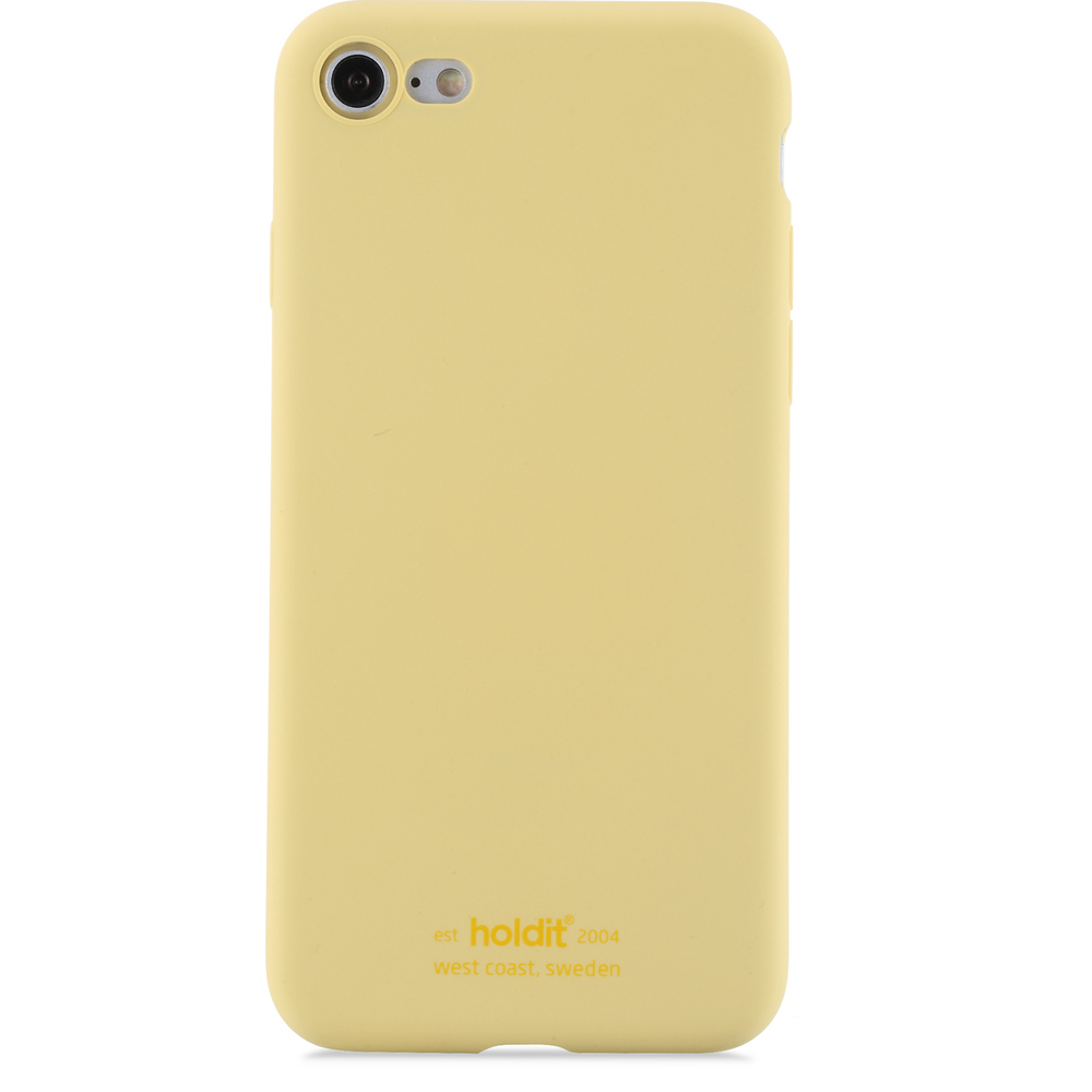 bild 1 av Holdit Mobilskal Silicone iPhone 7/8 Yellow