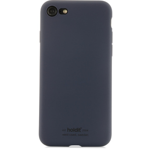 Holdit Mobilskal Silicone iPhone 7/8 Navy Blue