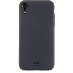 Holdit Mobilskal Silicone iPhone XR Navy Blue
