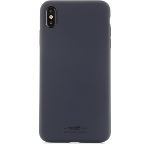 Holdit Mobilskal Silicone  iPhone Xs Max Navy Blue