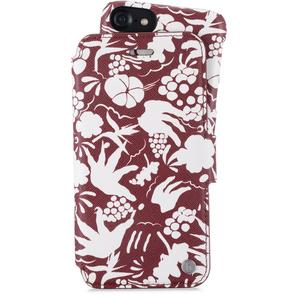 Holdit Plånboksfodral Magnet iPhone 6/7/8 Stockholm Tropical White