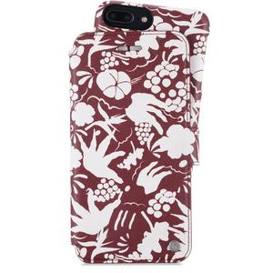 Holdit Plånboksfodral Magnet iPhone 6/7/8 Plus Stockholm Tropical White