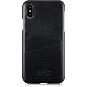 Holdit Mobilskal Kreditkortsfack iPhone X Svart