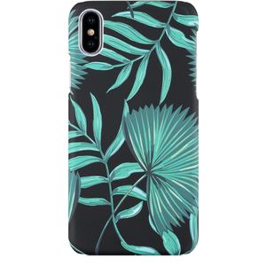 Holdit Mobilskal iPhone X Green Leaf