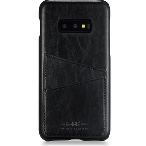 Holdit Phone Case Galaxy S10e Cardslot, Black PU