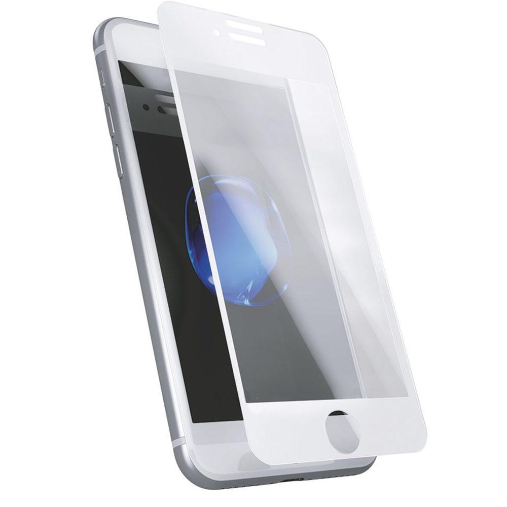 bild 1 av Skärmskydd härdat glass iPhone 6/6s/7/8 3D Full cover White frame