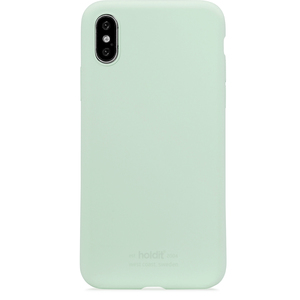 Holdit Mobilskal Silicone iPhone X/Xs Mint