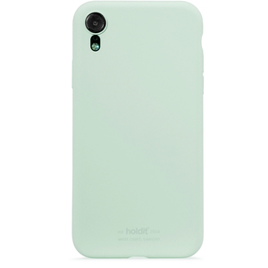 Holdit Mobilskal Silicone iPhone XR Mint