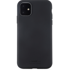 Holdit Mobilskal Silicone iPhone 11 Black