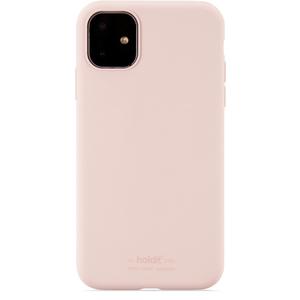 Holdit Mobilskal Silicone iPhone 11 Blush Pink