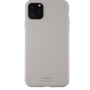 Holdit Mobilskal Silicone iPhone 11 Pro Max Taupe