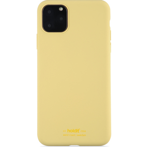 Holdit Mobilskal Silicone iPhone 11 Pro Max Yellow