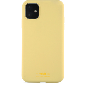 Holdit Mobilskal Silicone iPhone 11 Yellow