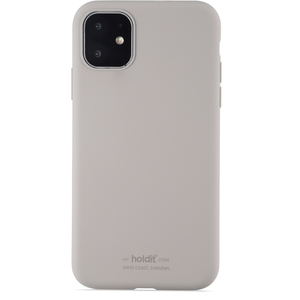 Holdit Mobilskal Silicone iPhone 11 Taupe