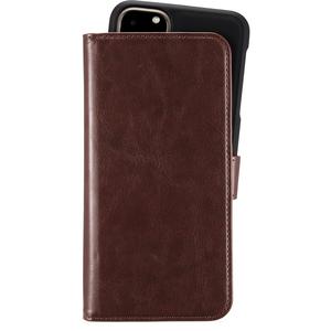 Holdit Plånboksväska Magnet iPhone 11 Pro Max Brown