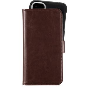 Holdit Plånboksväska Magnet iPhone 11 Brown