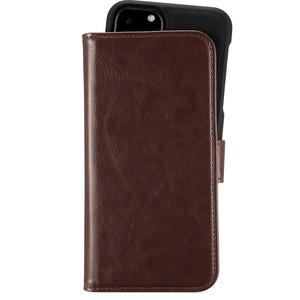 Holdit Plånboksväska Magnet iPhone 11 Pro Brown