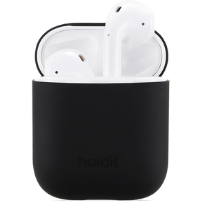 Holdit Silicone Case AirPods Nygård Black