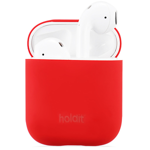 Silicone Case AirPods Nygård Ruby Red