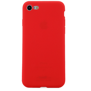 Holdit Mobilskal Silicone iPhone 7/8 Ruby Red