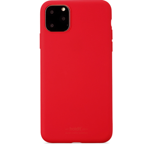 Holdit Mobilskal Silicone iPhone 11 Pro Max Ruby Red