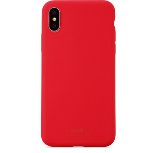 Holdit Silicone Case iPhone X/Xs Ruby Red