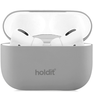 Holdit Silicone Case AirPods Pro Nygård Taupe