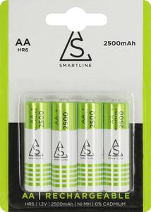 Batteri AA 1,2V NiMH 2500 mAh